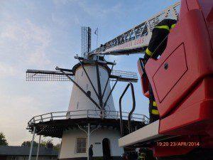 Brandweeroefening